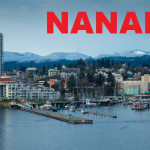 Aeiral Shot of Nanaimo